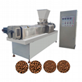 China floating Fish feed pelleting making processing extruder machine line plant