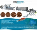 Fisfood pellet making machine floating fish feed pellet extruder production line 2