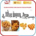 Puffed snack machine snacks food machinery extruder machine 5