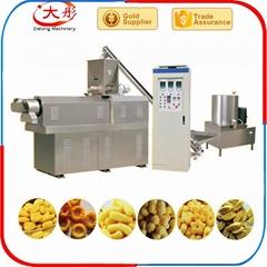 Corn snack bar twin screw extruder prices puff corn chips snacks food machine