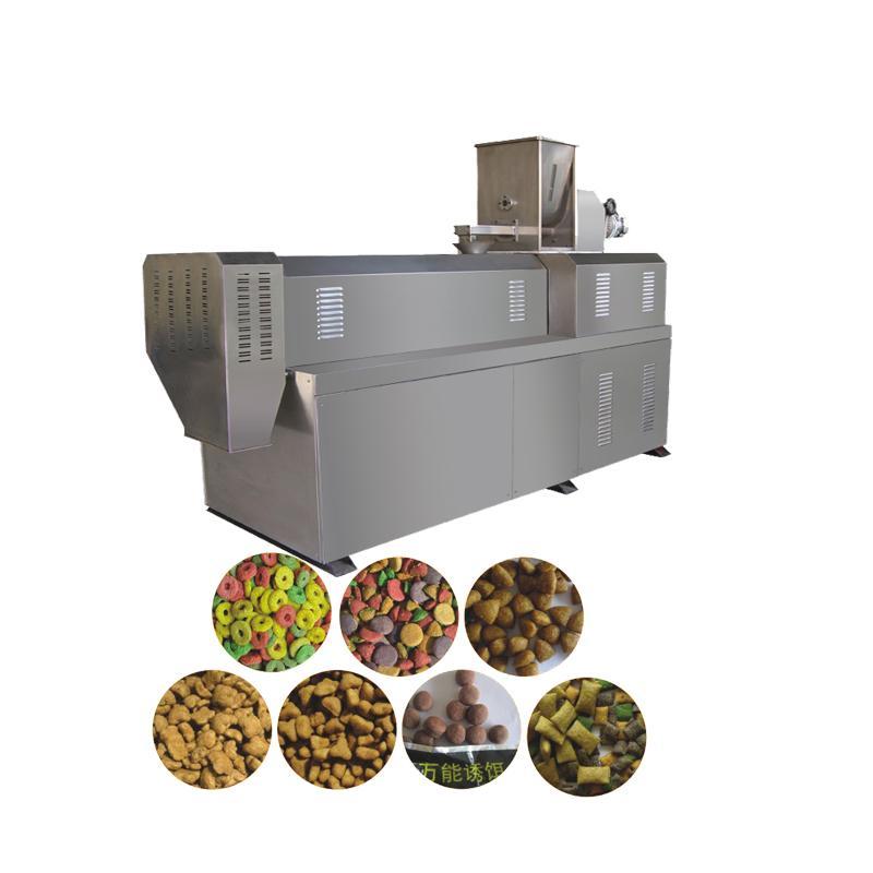Pet cat food pellet processing  extruder dog food extrusion machine 1