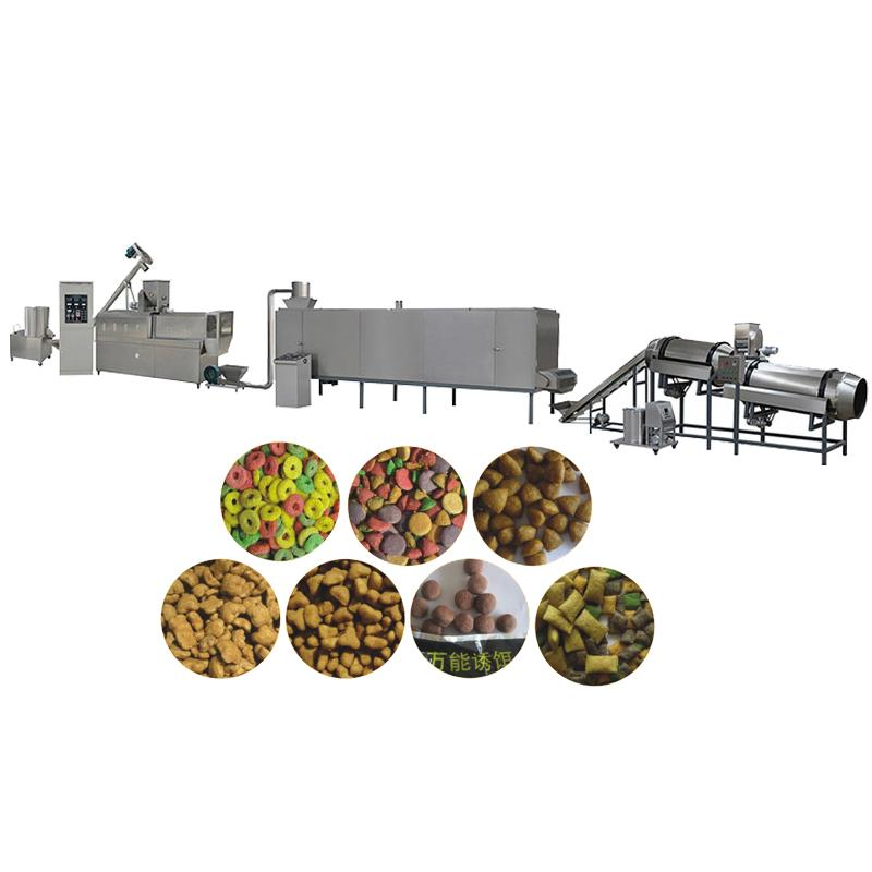 Dry Dog Food Pellet Making Machine Dry Pet Dog Food Extruder machine
