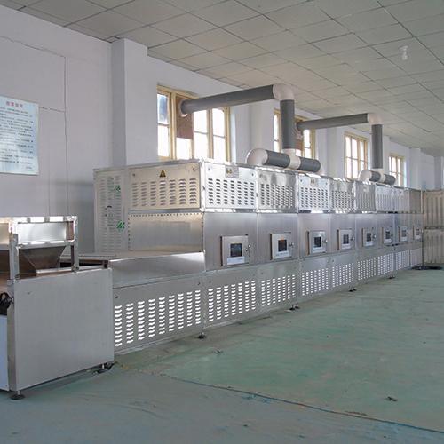 Stainless Steel Microwave Heating Equipment Flower Tea