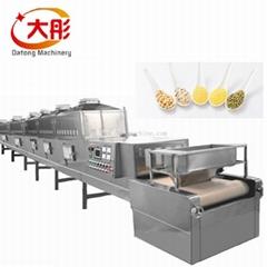 Chemical Material Industrial Microwave Drying Machine Low Temperature Sterilizat