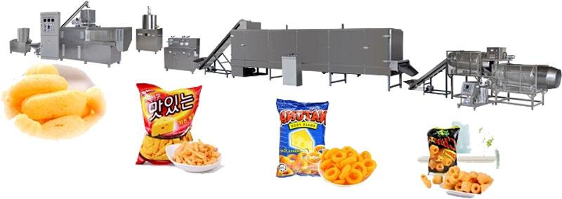 Core Filling Snack Food extruder Machine 2