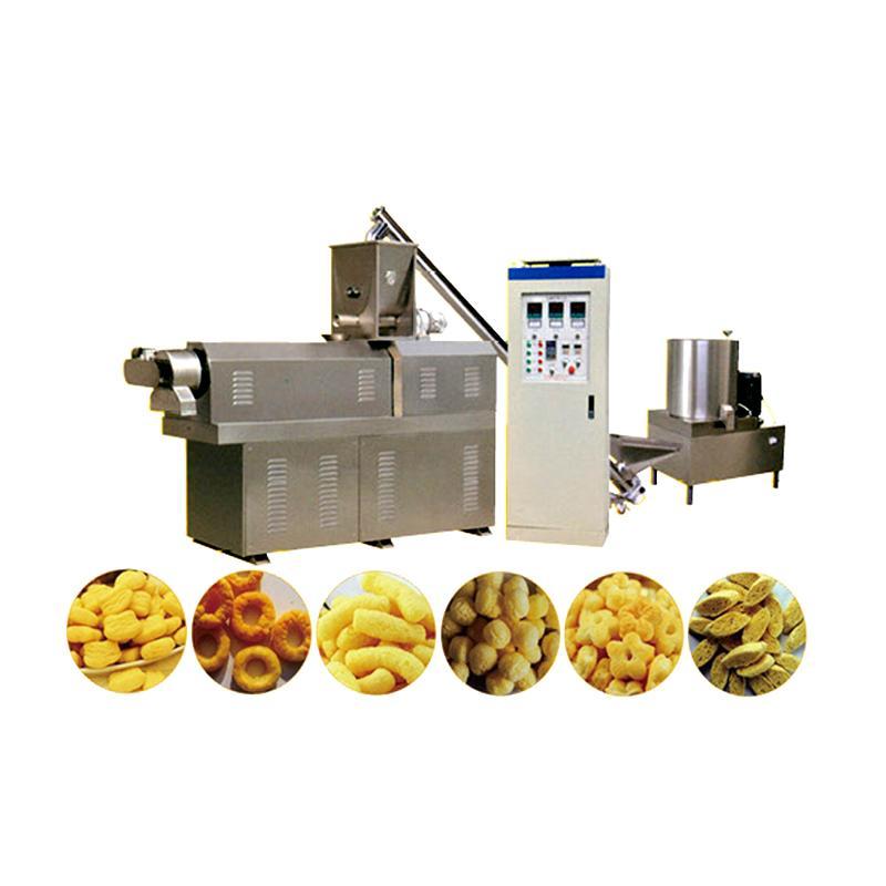 Puffed snack machine snacks food machinery extruder machine 1