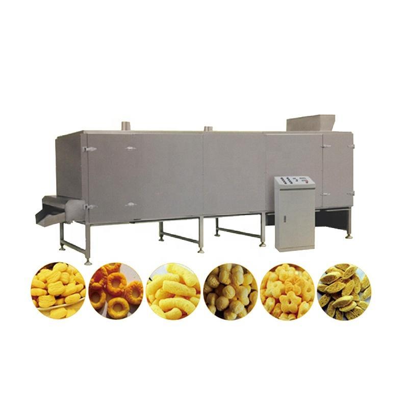 Puffed snack machine snacks food machinery extruder machine 3