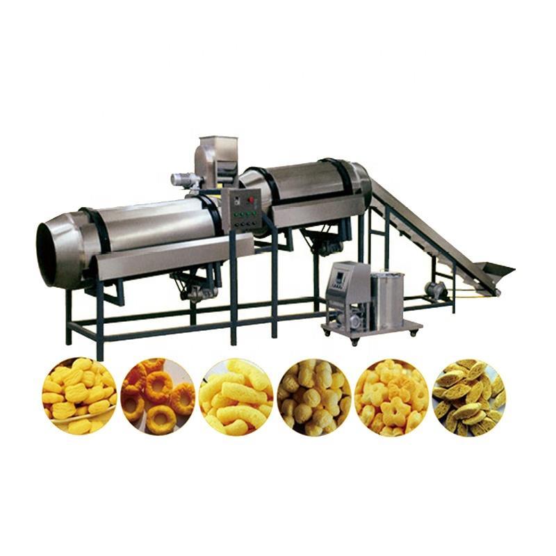 Bread chips making machine Corn Puffed snack food Extruder Making Machine 3