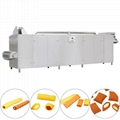 Finger Pillow Shape Core Filling Snack Food Making Machine