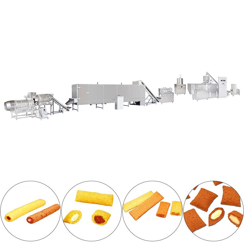 膨化能量棒、糙米卷食品加工設備 2