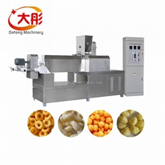 Twin screw extruder prices corn chips