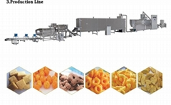 Maize Corn Puff Snack food Machine Puffed Snacks Food Machine Extruder For Sale