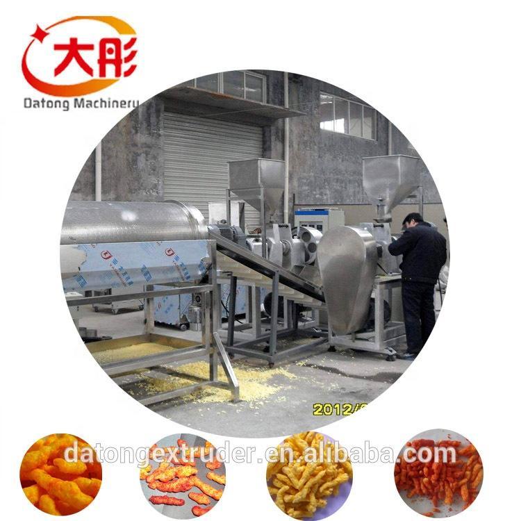 Fully Automatic Baked Kurkure Cheetos Making Machine Cheetos Extruder Machinery  4