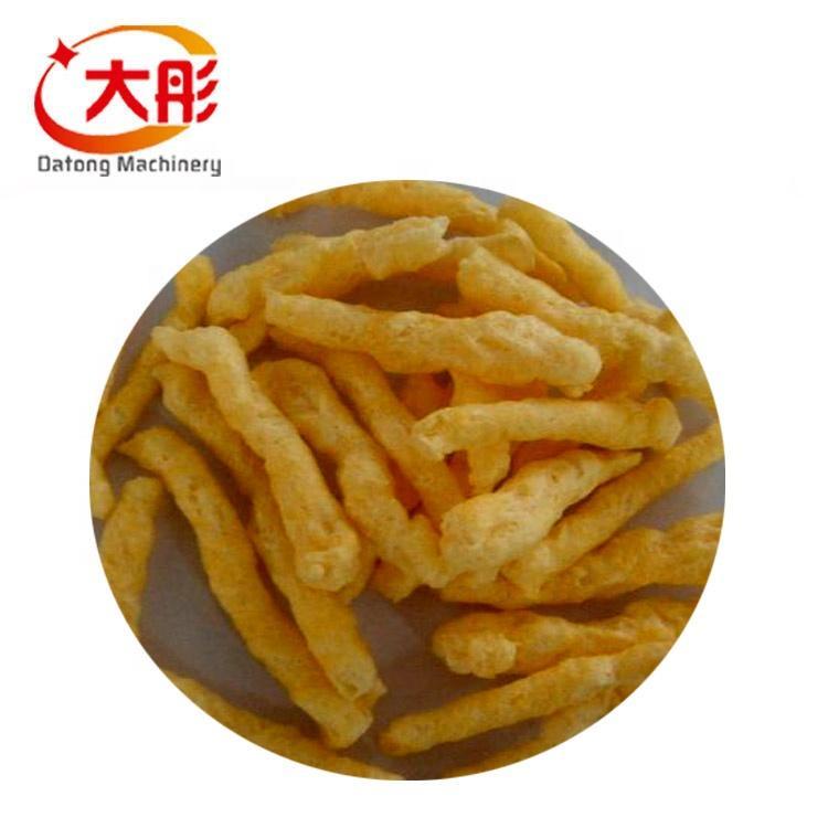 Automatic kurkure production line cheetos extruder making machine food machine 2