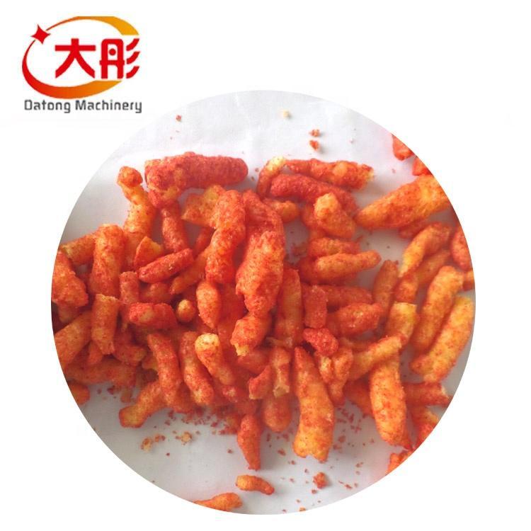 Automatic kurkure production line cheetos extruder making machine food machine 3