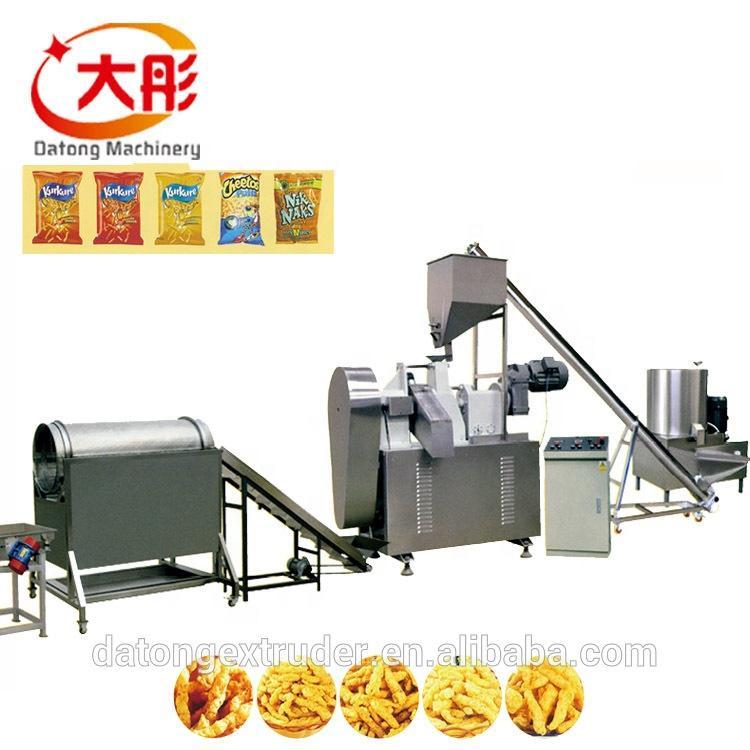 Automatic kurkure production line cheetos extruder making machine food machine 1