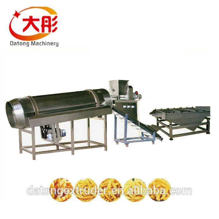 Automatic kurkure production line cheetos extruder making machine food machine 5