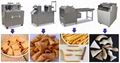 Fried food seasoning machine bugle chips processing machinery fried bugles snack