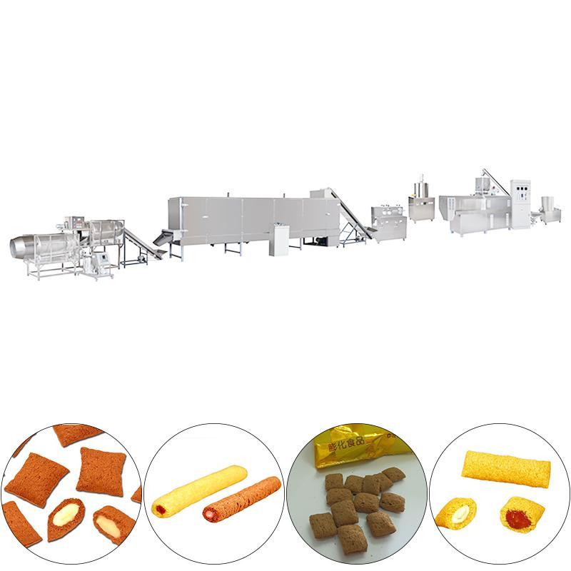 米果、夹心食品生产线夹心糖果生产线   1
