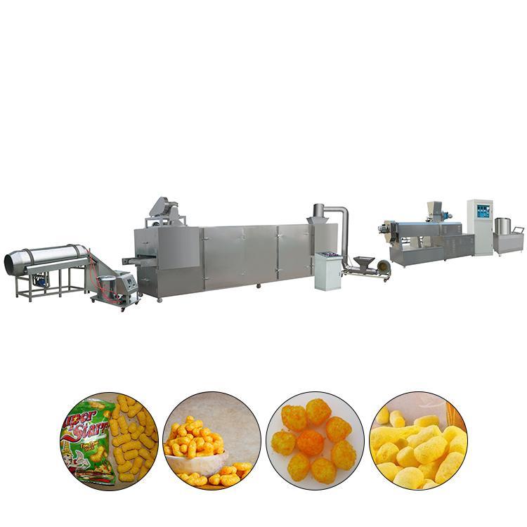 膨化玉米棒設備 玉米膨化食品機械_膨化食品生產線 1