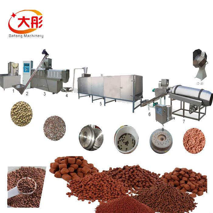 Fish Food Pellet Extruder plant 1