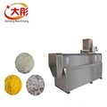 Instant artificial rice processing line