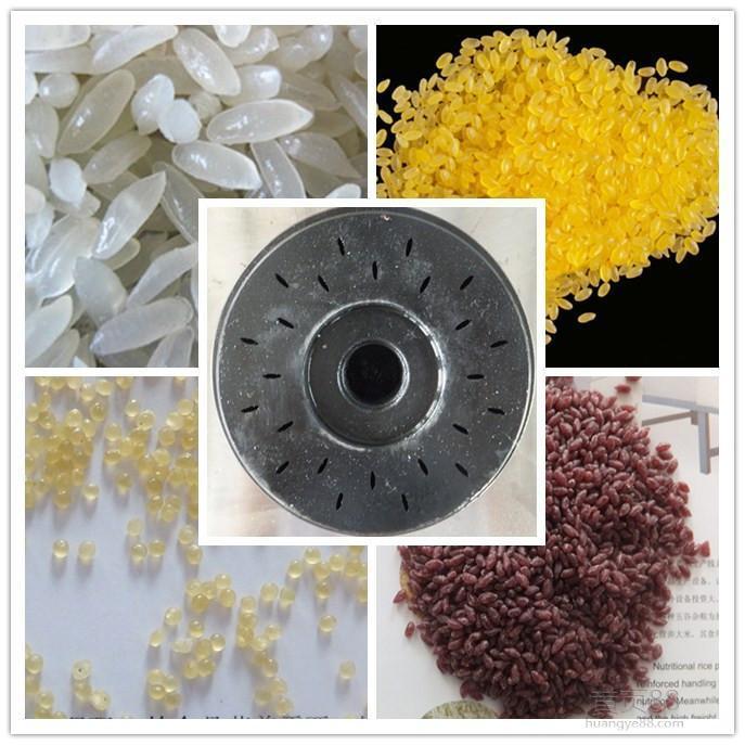 紫薯米、葛根米、营养大米、速食米生产线 8