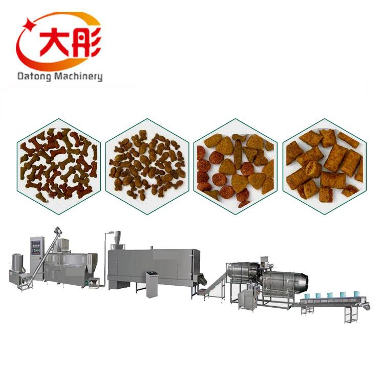 Pet food pellet processing machine 1
