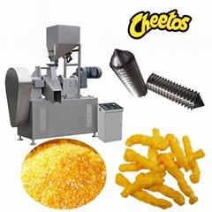 膨化玉米卷曲食品加工设备