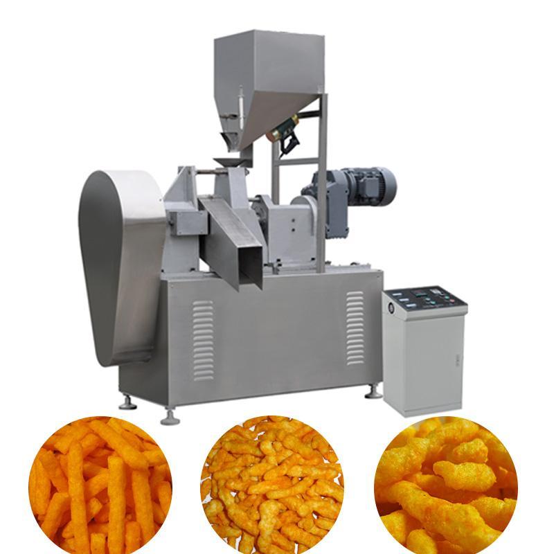 膨化玉米卷曲食品加工设备 1
