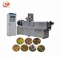Animal feed pellet processing machine