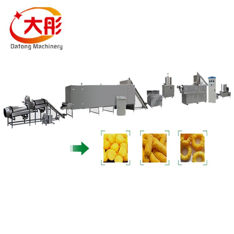 Core Filling Snack Food extruder Machine 1