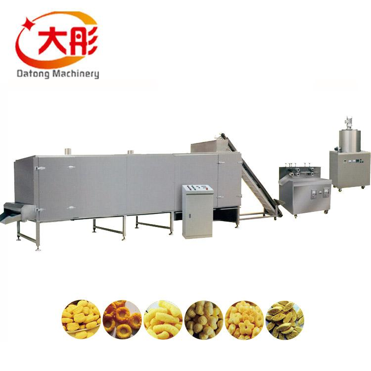 Core Filling Snack Food extruder Machine 9
