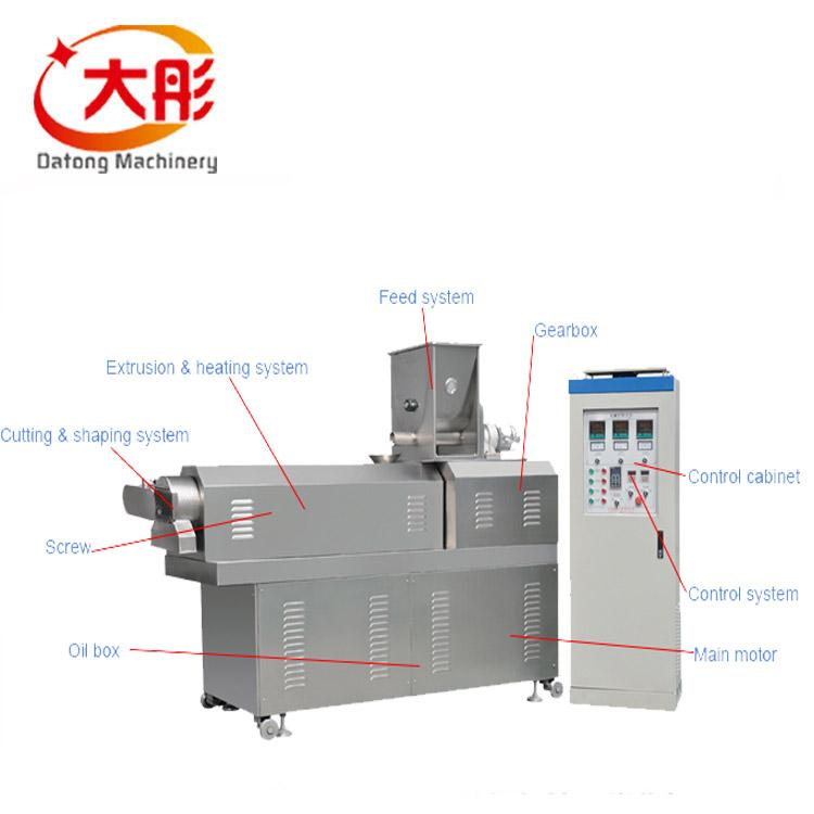 浮水魚飼料顆粒加工機械 1