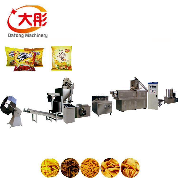 江米条、油京果、酥京果膨化成型机 1