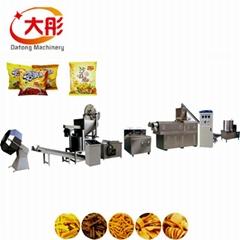 Fried Flour  snacks food production line plant