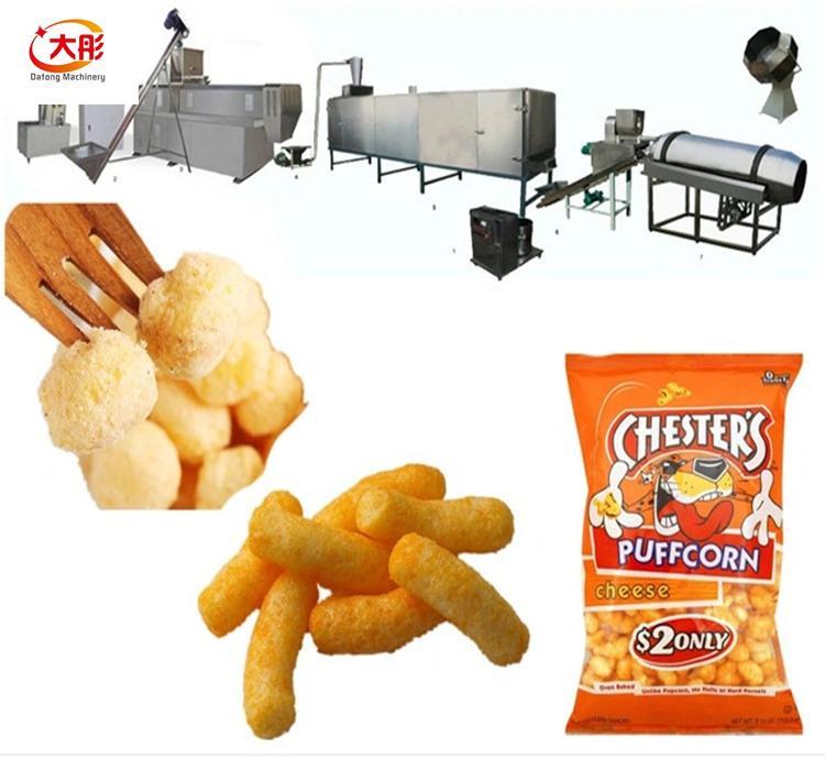 膨化休闲食品生产线 1
