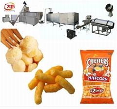 膨化休閑食品生產線