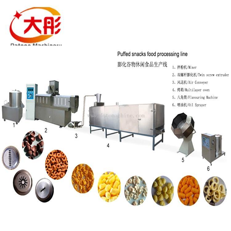 膨化玉米食品加工機械 2