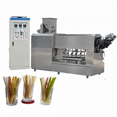 Drinking Rice Straw Making Machine