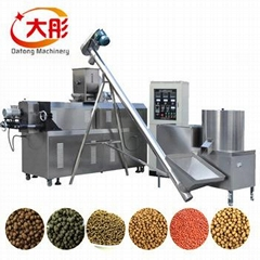 Single screw fish food machine