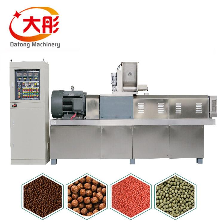 Fisfood pellet making machine floating fish feed pellet extruder production line 1