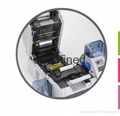 ZebraZXP8再转印证卡机