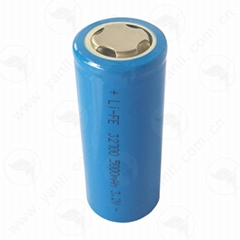 特种高温锂电池3.2V 5000mAh