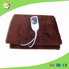 electric fleece blanket