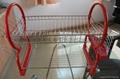 iron dish racks kitchen shelf