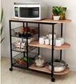 good quality kitchen rack metal shelf