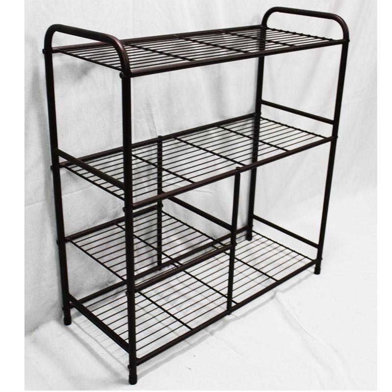metal shoe rack iron shelf manufacturer 1