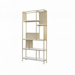 Iron bookshelf household metal bookshelf customize