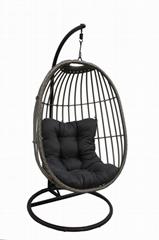 供應品質戶外吊椅鐵金屬搖搖椅